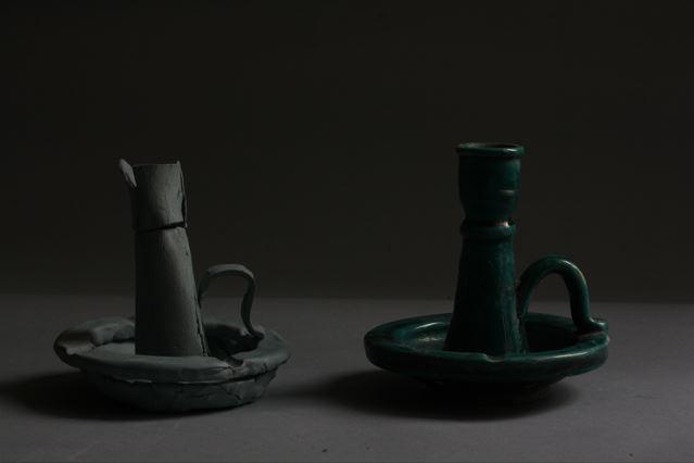 romaric-tisserand-poterie-chandelier-copie-gerard-richter-001